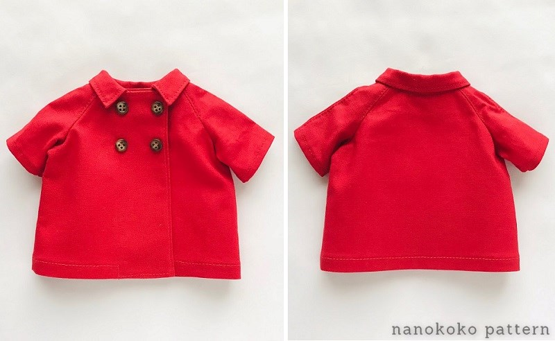メルちゃんの赤いコート
