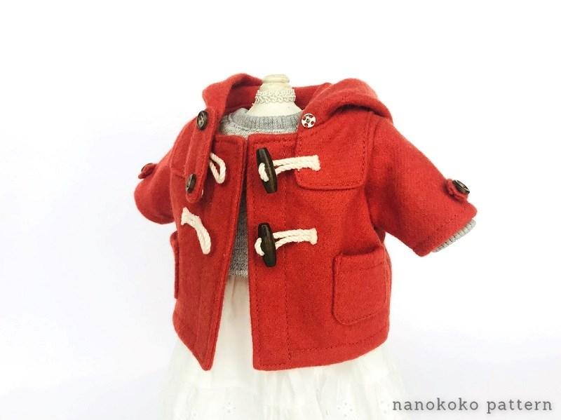 メルちゃんのフードコートの型紙