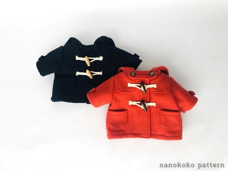 メルちゃんの冬コートの作り方