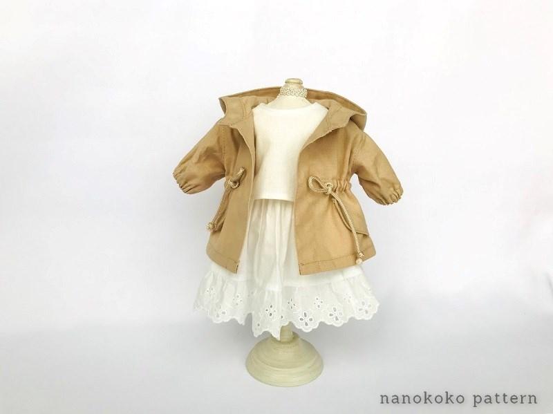 メルちゃんのフードコートの作り方と型紙