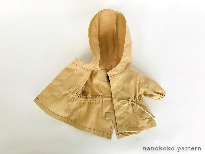 メルちゃんのコートの縫い方