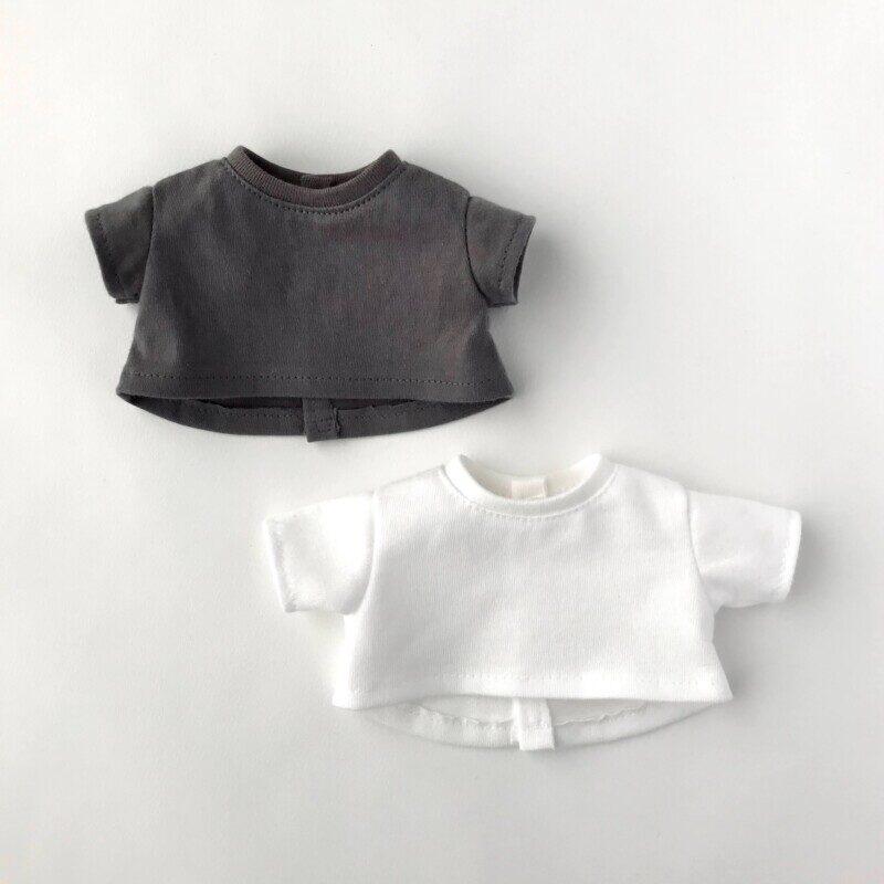 メルちゃんやソランちゃんサイズの「ゆるTシャツ」の型紙